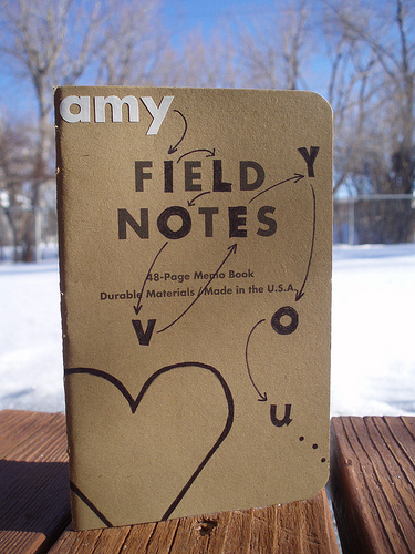 field notes1 - flickr