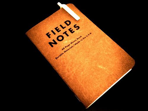 field notes3 - flickr
