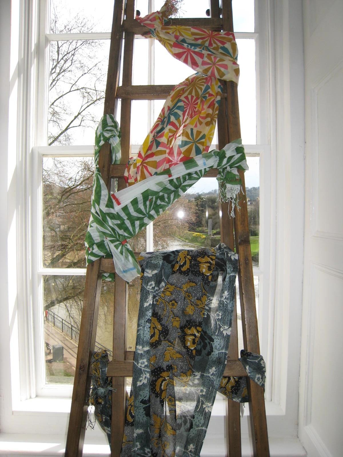 found - epice scarves ladder green