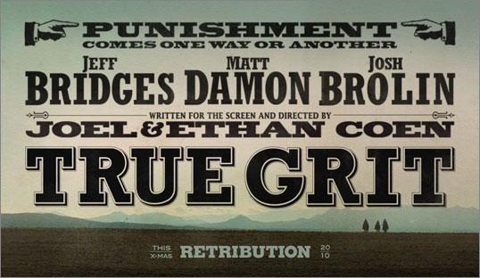 true grit poster - paramount