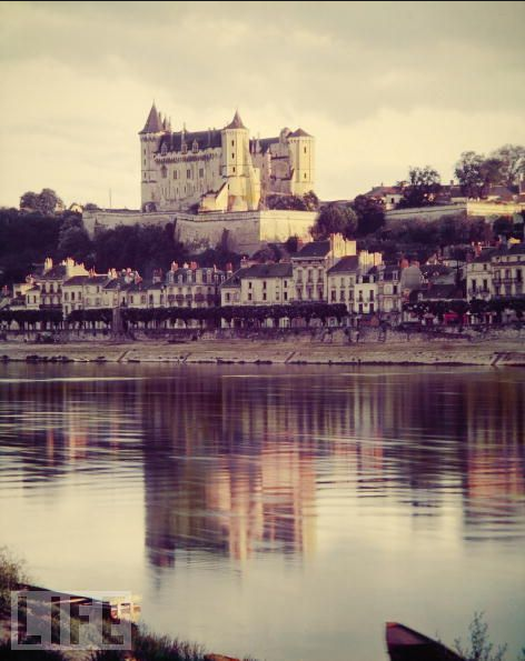 Chateau at Saumur, Circa 1953 - life archive