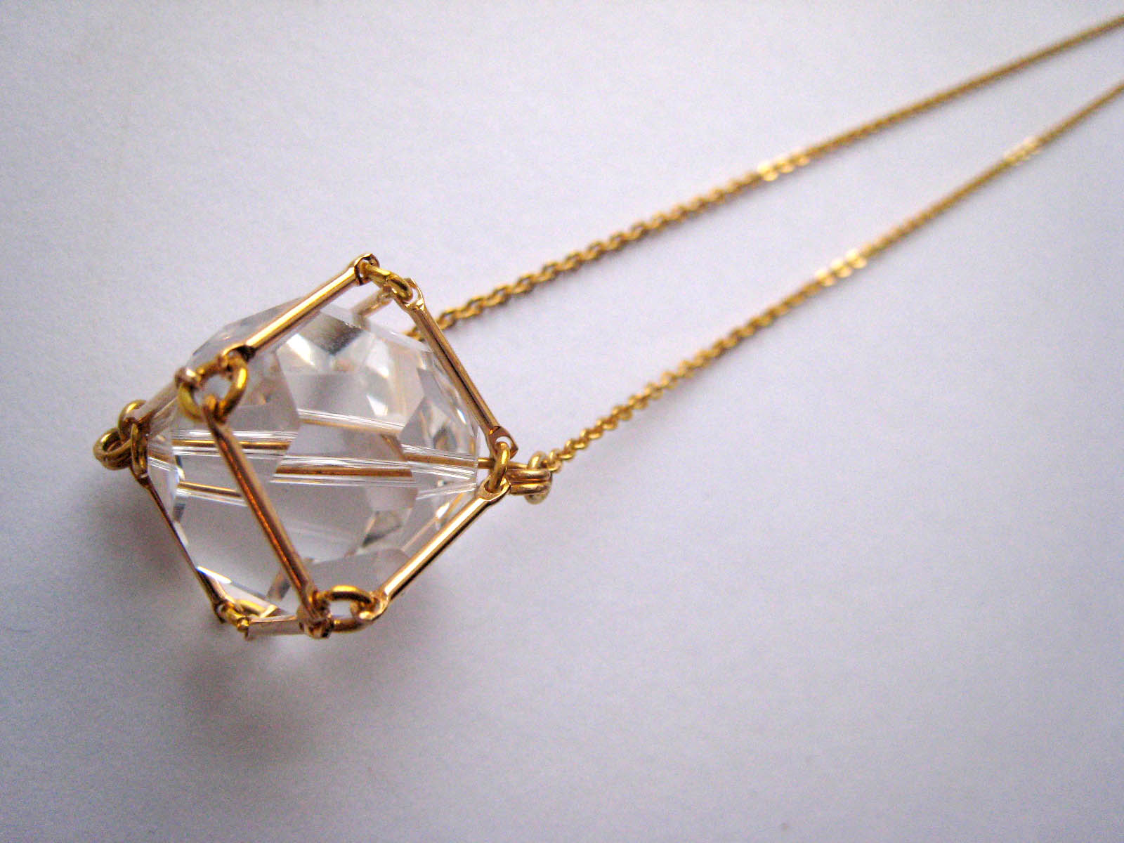 Lucy Hutchings - Mini Crystal Pendant bath stockist found boutique