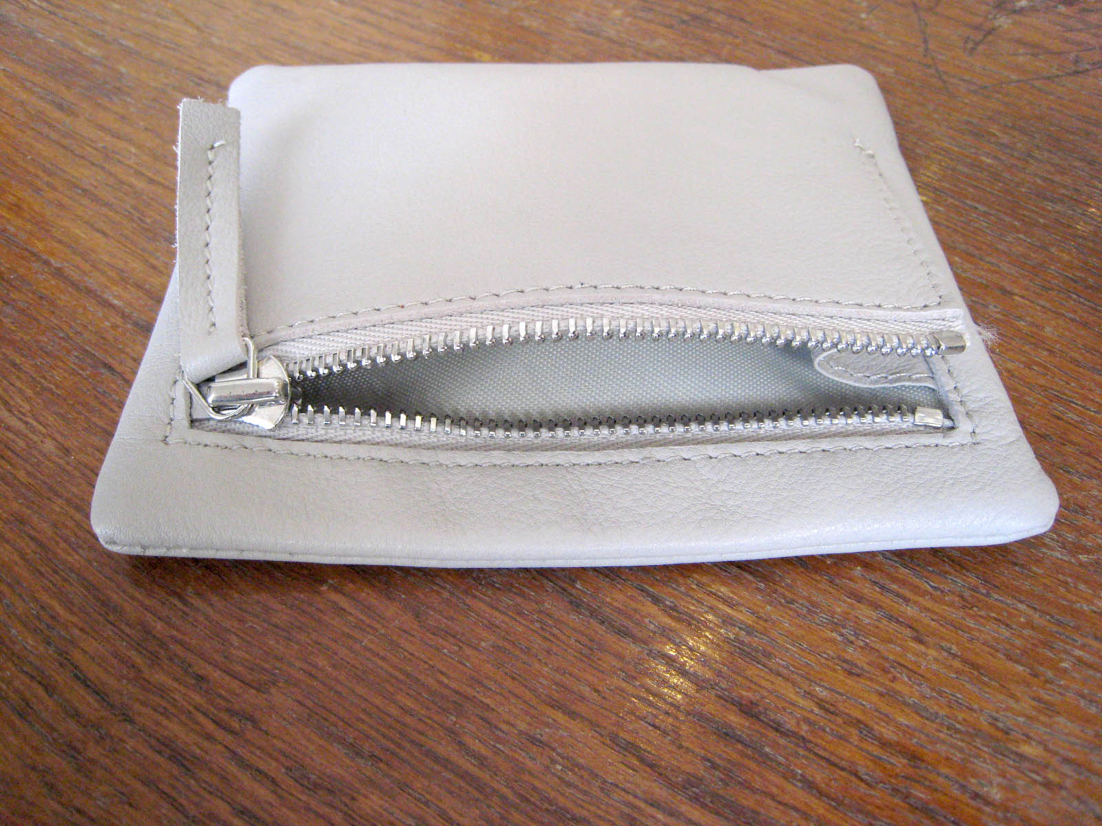 carre royal grey purse found boutique bath