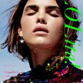 cosmic disco - Oyster #92 Cover | Bambi Northwood-Blyth by Bec Parsons - fashion gone rogue