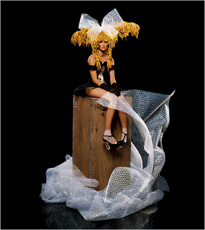 jean-paul goude - Hello Dolly - new york times