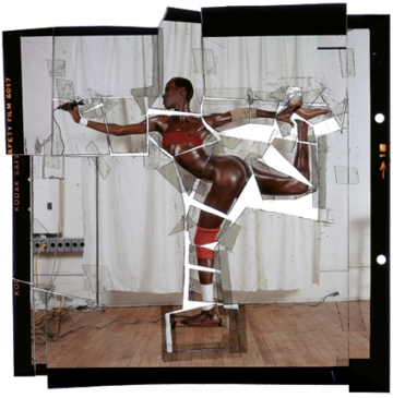 jean-paul goude - grace jones negative