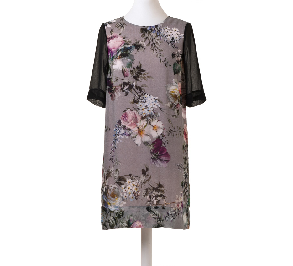 Karen walker Dress bouquet found boutique designer