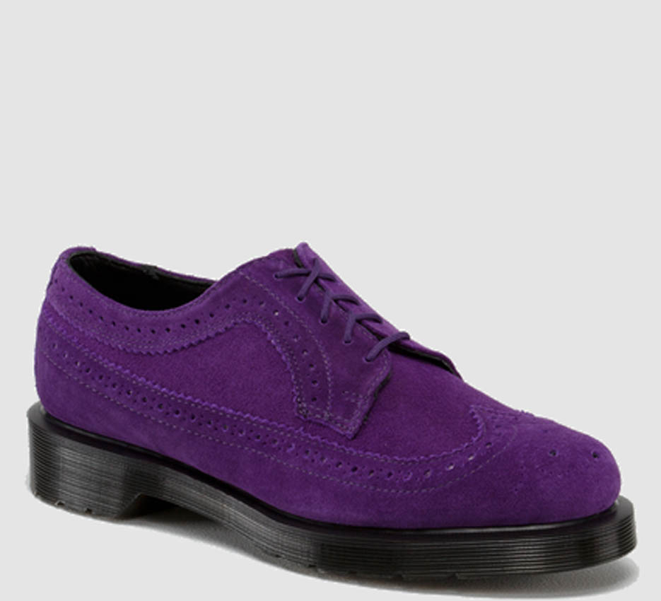dr martens - purple suede designer shop boutique bath found