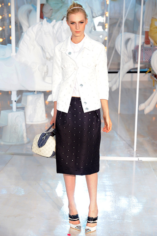 look 19 - louis vuitton ss12 - style stella telegraph top 50 found bath boutique designer shop