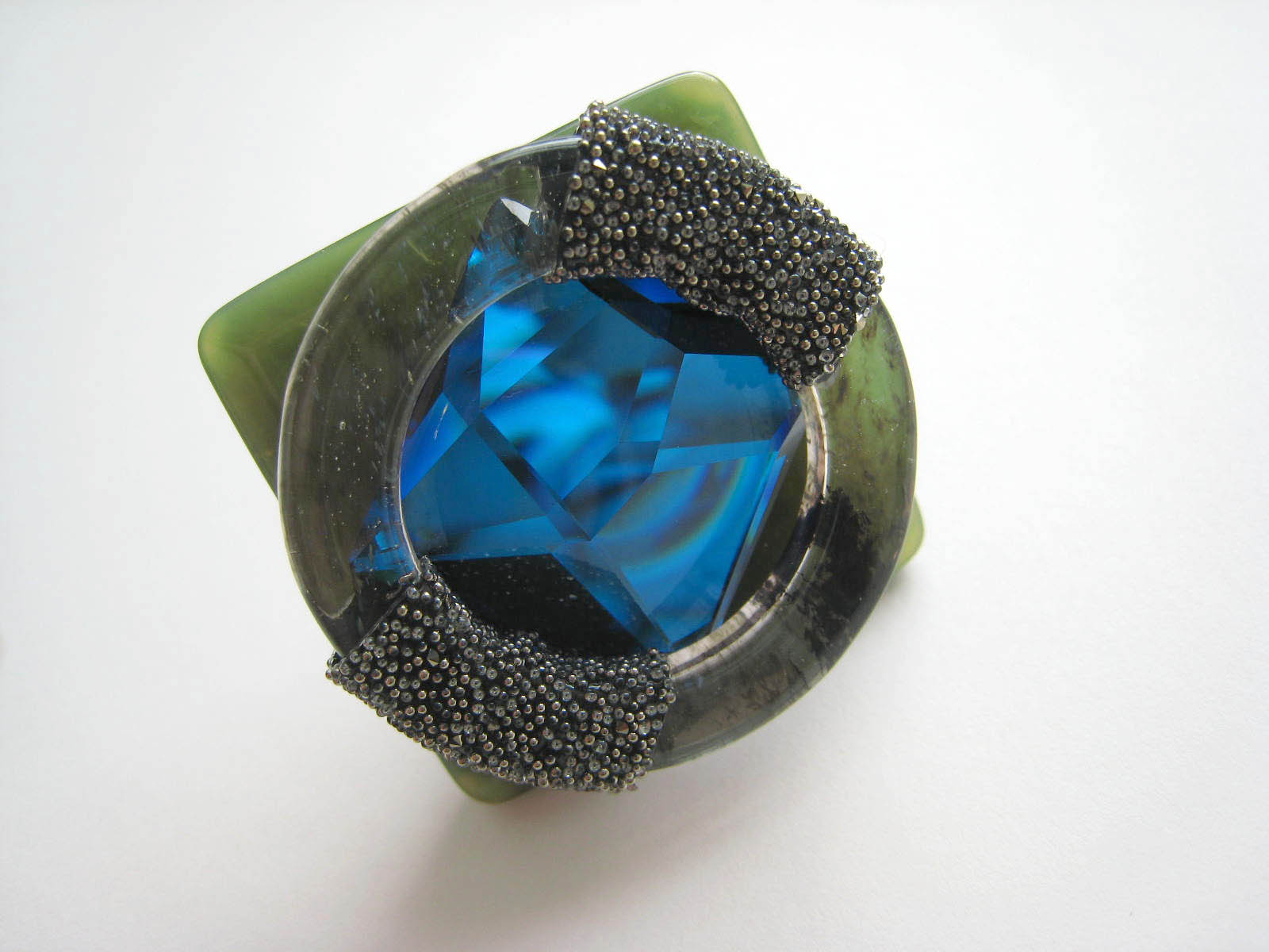 lucy hutchings blue gem ring found bath boutique designer shop top stella telegraph