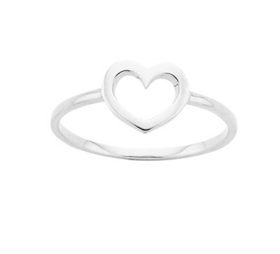 karen walker - heart ring stella telegraph top 50 found bath boutique designer shop