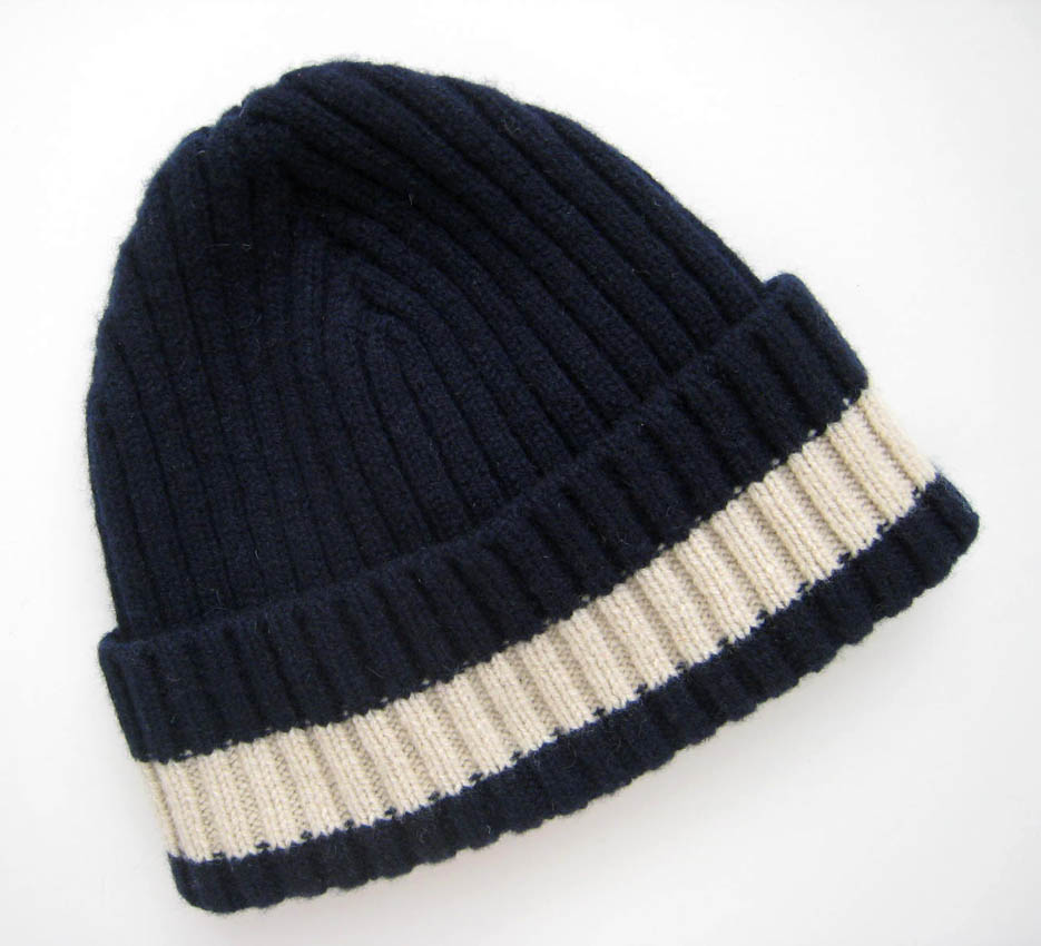ymc - navy stripe hat stella telegraph top 50 found bath boutique designer shop