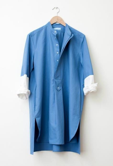 FOUND - Kinoak lutz blue crop stella telegraph top 50 found bath boutique designer shop vogue top 100 glamour magazine
