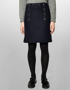 YMC SKIRT Q3CAD NAVY